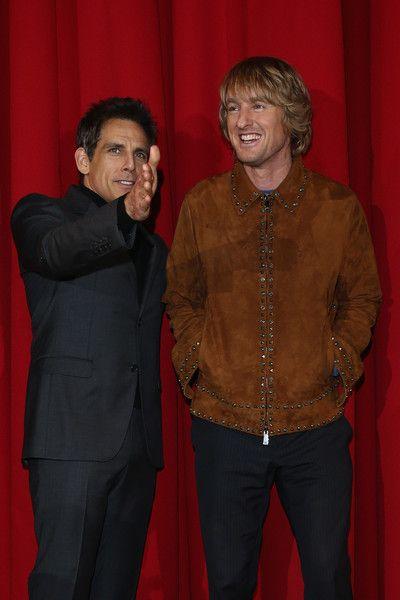 Ben Stiller and Owen Wilson promote 'Zoolander No. 2' in Berlin.