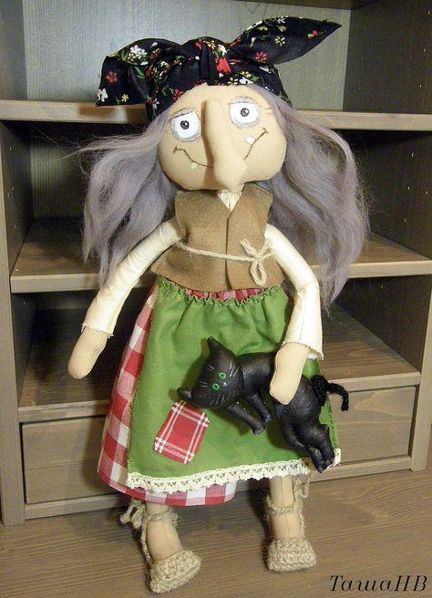 Кукла на руку баба яга своими руками 187