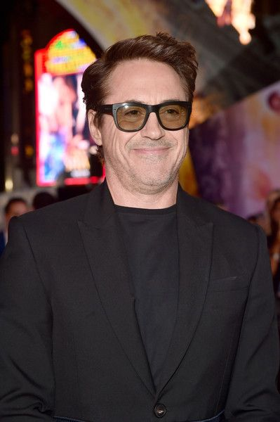 """Actor Robert Downey Jr. attends the Los Angeles World Premiere of Marvel Studios'' 'Doctor Strange""""' in Hollywood."""