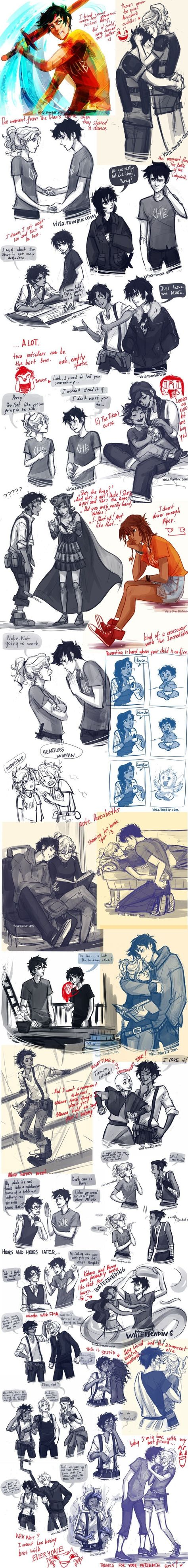 Viria harry potter and percy jackson