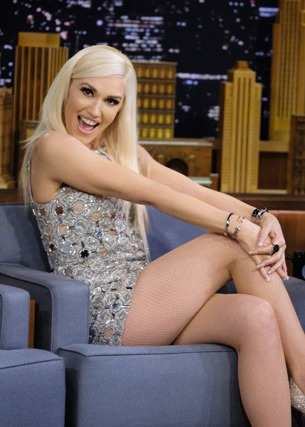 "Gwen Stefani Visits ""The Tonight Show Starring Jimmy Fallon"" at Rockefeller Center on February 15, 2017 in New York City."