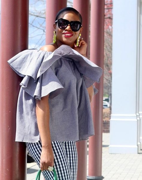 Darling Gingham Outfit Ideas | Checks Mix