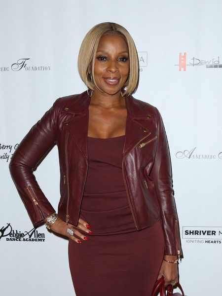 Mary J. Blige is seen attending the U.S. Premiere of Debbie Allen's 'Freeze Frame' at The Wallis Annenberg Center.