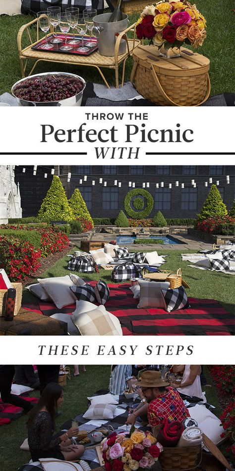 How to throw the perfect picnic.