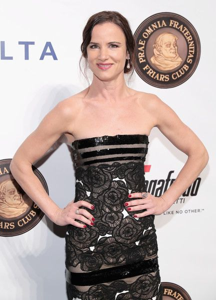 Actress Juliette Lewis attends as the Friars Club Honors Martin Scorsese With the Entertainment Icon Award in NYC.