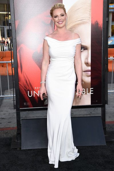 Katherine Heigl attends the premiere of the dramatic thriller 'Unforgettable' at the TCL Chinese Theater.