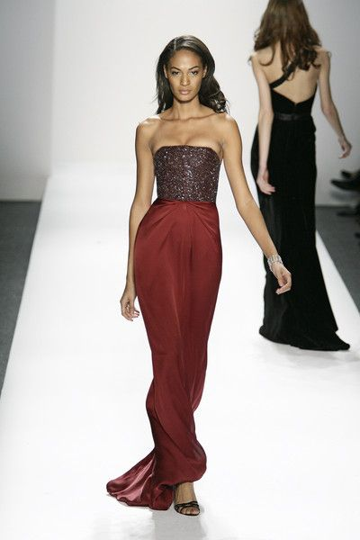 Pamella Roland, Fall 2009 - This Is Why Joan Smalls Rules the Runway - Photos