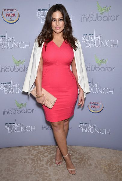 Model Ashley Graham attends the Garden Brunch prior to the 102nd White House Correspondents' Association Dinner at the Beall-Washington House.