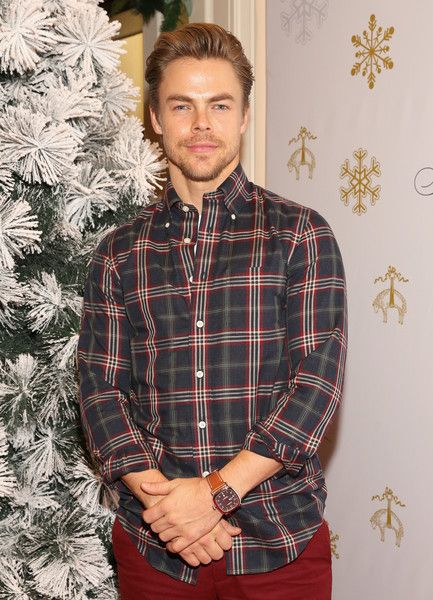Dancer Derek Hough attends Brooks Brothers' holiday celebration with St. Jude Children's Research Hospital.