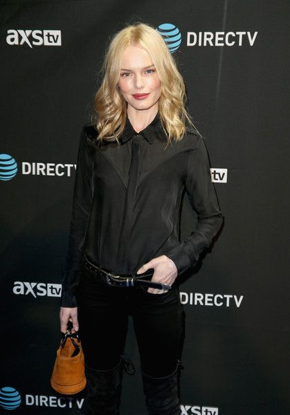 Kate Bosworth attends the DirecTV Super Saturday Night Co-Hosted by Mark Cuban's AXS TV.