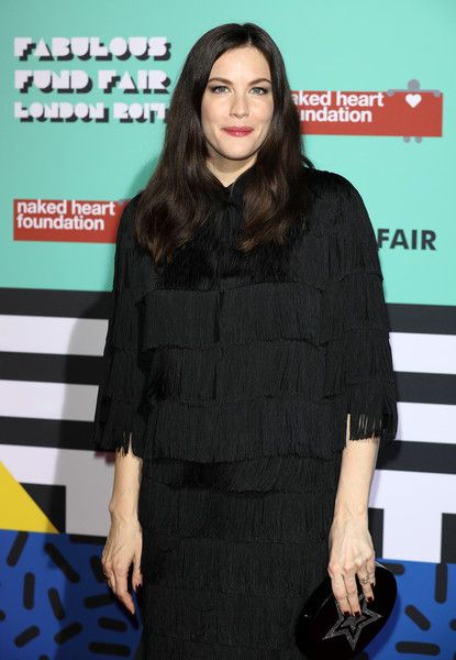 Liv Tyler attends The Naked Heart Foundation's London's Fabulous Fund Fair.