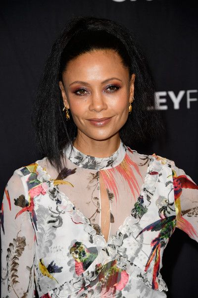 Actress Thandie Newton arrives at the 'Westworld' screening and panels at The Paley Center For Media's 34th Annual PaleyFest Los Angeles.