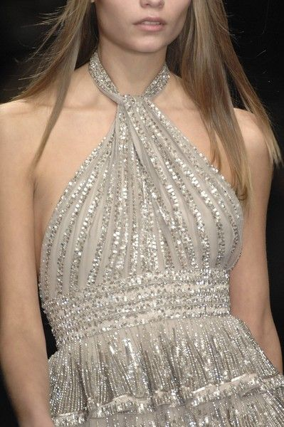Elie Saab Couture Details, Spring 2007 - Elie Saab's Most Beautiful Runway Details of the Decade - Photos