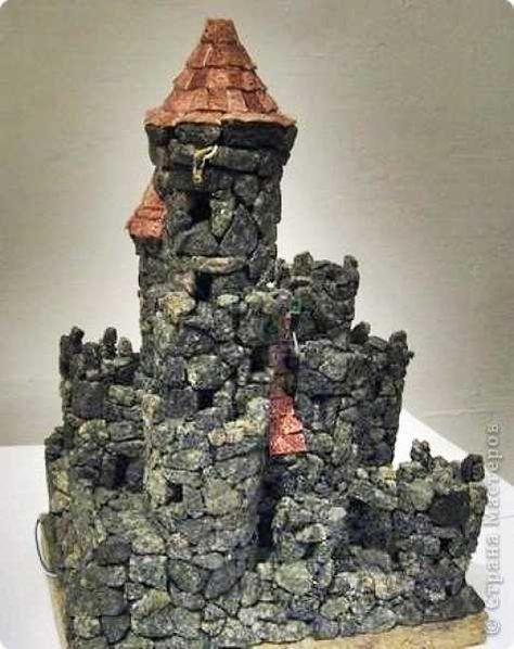 Поделки замки из камней своими 495