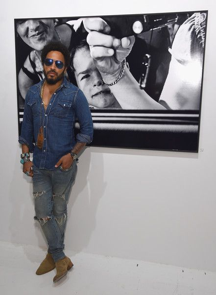 Lenny Kravitz attends Opening of Lenny Kravitz FLASH Photography Exhibition at Miami Design District on December 1, 2015 in Miami, Florida.