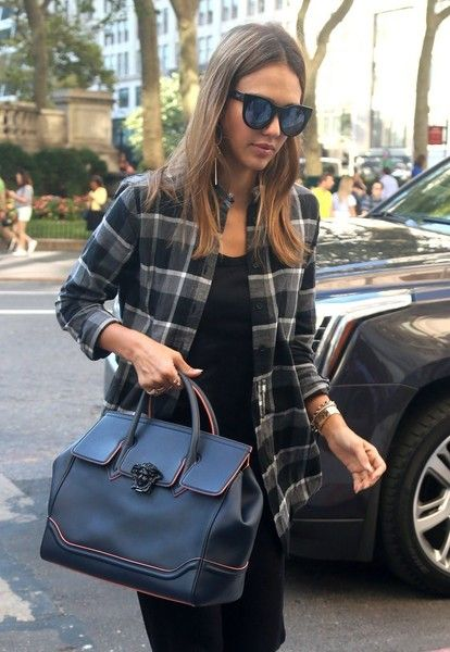 Jessica Alba is spotted out and about in New York City.
