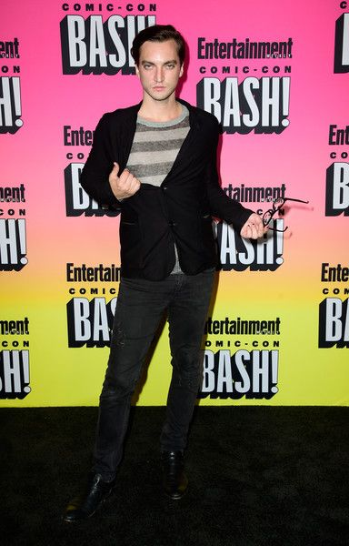 Richard Harmon attends Entertainment Weekly's Comic-Con Bash.