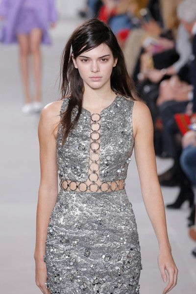 Model Kendall Jenner walks the runway wearing Michael Kors Fall 2016 During New York Fashion Week: The Shows at Spring Studios on February 17, 2016 in New York City.