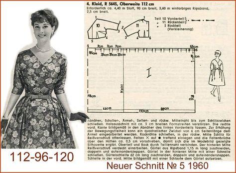 Платье 60 годов сшить 6