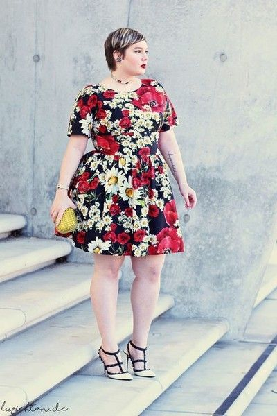 You Shouldn't Wear Short Dresses - Plus-Size Style Rules You Should Break Immediately - Photos