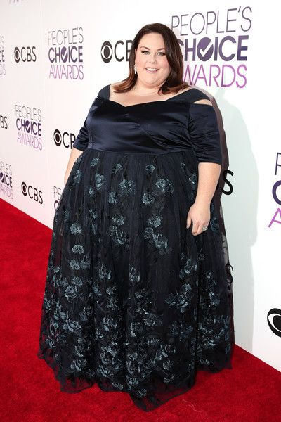 Actress Chrissy Metz attends the People's Choice Awards 2017.