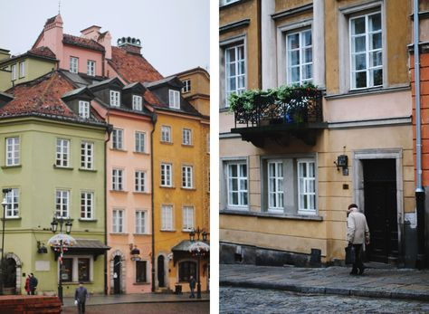 Postcards From Warsaw, Poland
