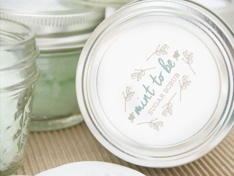 DIY Mint To Be Scrubs - Pretty Bridal Shower Favors  - Photos