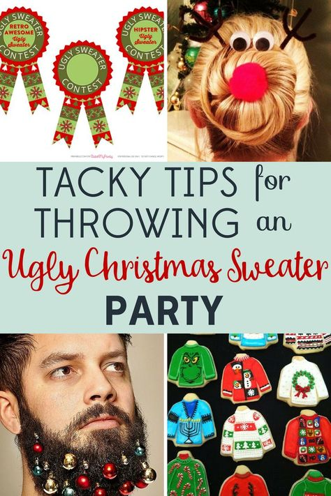 Tacky Tips for Throwing an Ugly Christmas Sweater Party!