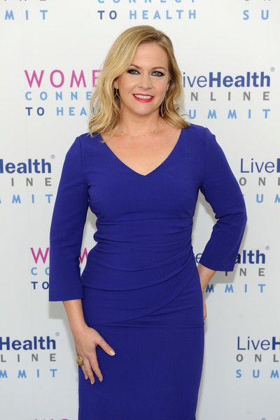 Melissa Joan Hart attends the LiveHealth Online Summit: Women Connect to Health at IAC Building on September 27, 2016 in New York City.