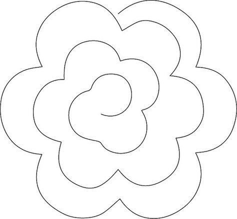 Розы из фетра своими руками схемы шаблоны 14
