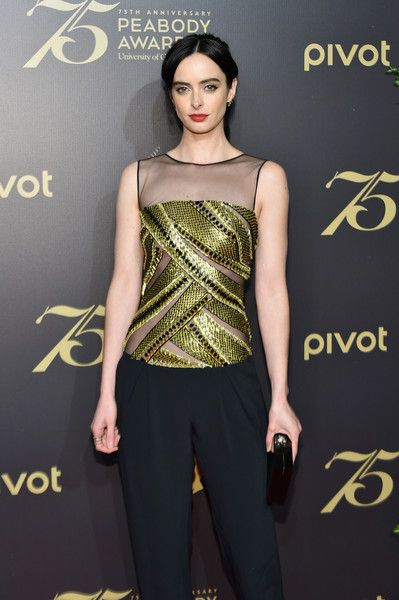 Actress Krysten Ritter attends The 75th Annual Peabody Awards Ceremony at Cipriani Wall Street on May 20, 2016 in New York City.