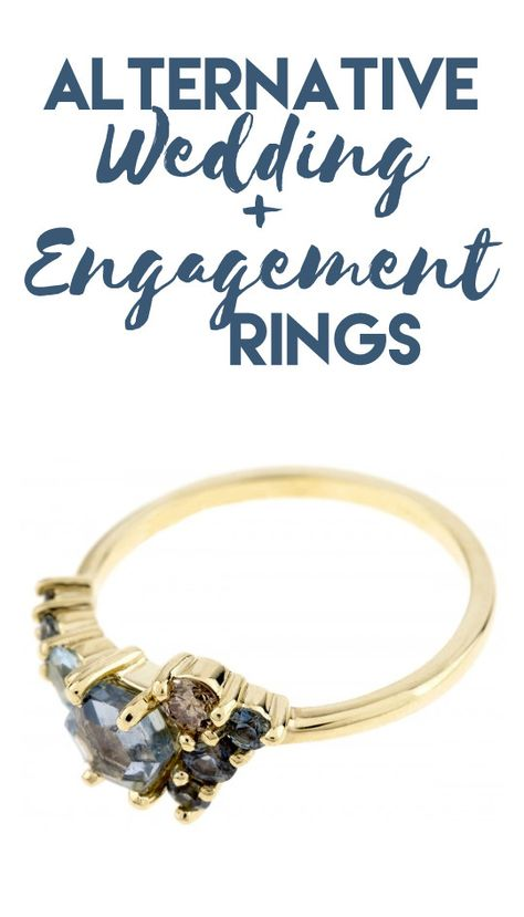 Gorgeous Alternatives to Traditional Wedding and Engagement Rings