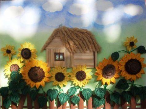 Поделка к осенней выставке в начальной школе