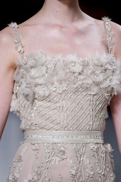 Elie Saab Couture Details, Spring 2011 - Elie Saab's Most Beautiful Runway Details of the Decade - Photos