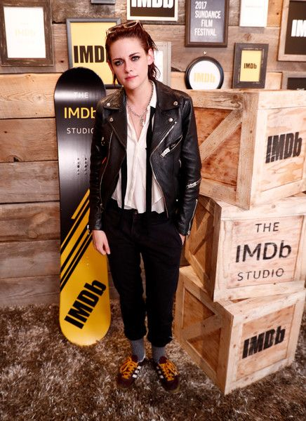 "Actress/director  Kristen Stewart of ""Come Swim"" attends The IMDb Studio featuring the Filmmaker Discovery Lounge, presented by Amazon Video Direct: Day One during The 2017 Sundance Film Festival on January 20, 2017 in Park City, Utah."