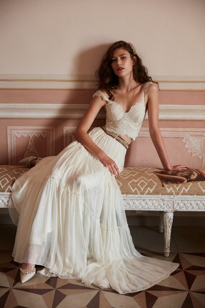 Two-Piece Bustier - BHLDN's Latest Bridal Collection Is Here and We're in Love - Photos