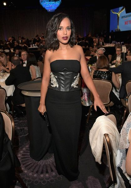 Actress Kerry Washington attends the 2017 Writers Guild Awards L.A. Ceremony.