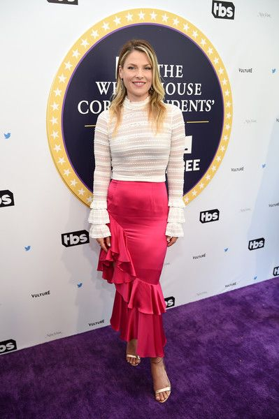 Ali Larter attends 'Full Frontal With Samantha Bee's Not The White House Correspondents' Dinner.