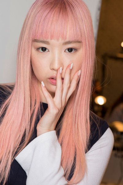 Vera Wang, Spring 2017 - The Boldest and Most Beautiful Hair at NYFW Spring 2017 - Photos