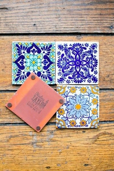 Colorful Tiles - Impress Your Guests With These Wedding Favors - Photos