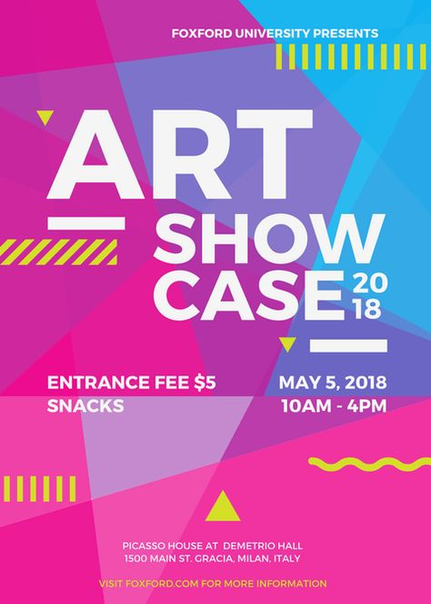 Free event poster design templates