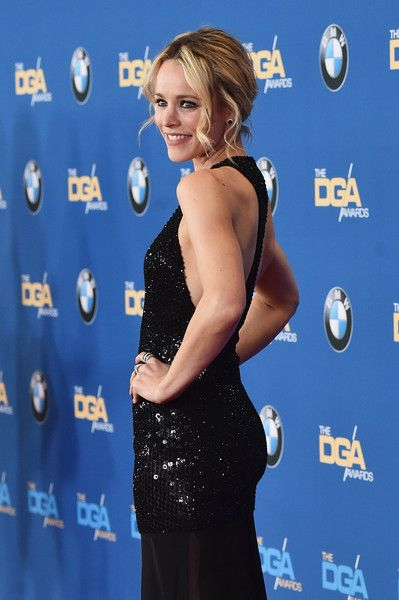 Actress Rachel McAdams attends the 68th Annual Directors Guild Of America Awards at the Hyatt Regency Century Plaza on February 6, 2016 in Los Angeles, California.