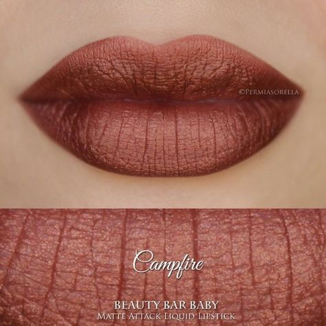 Campfire Copper - Cool and Creative Lipstick Colors to Try Now - Photos
