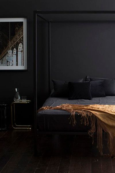 Black Not Bleak - Our Favorite Dark Living Spaces - Photos