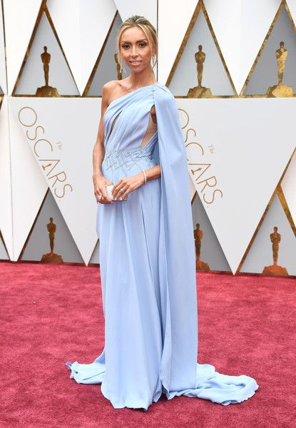 TV personality Giuliana Rancic attends the 89th Annual Academy Awards.