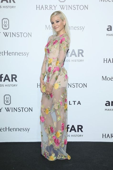 The Most Gorgeous Gowns from the 2016 amfAR Milano Gala, Pixie Lott