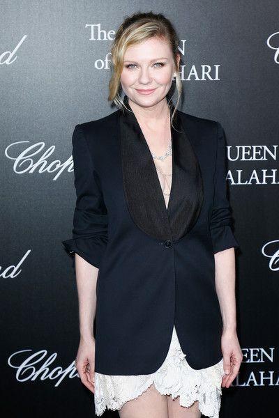 Kirsten Dunst attends 'The Garden of Kalahari' Movie Presentation at Theatre du Chatelet.