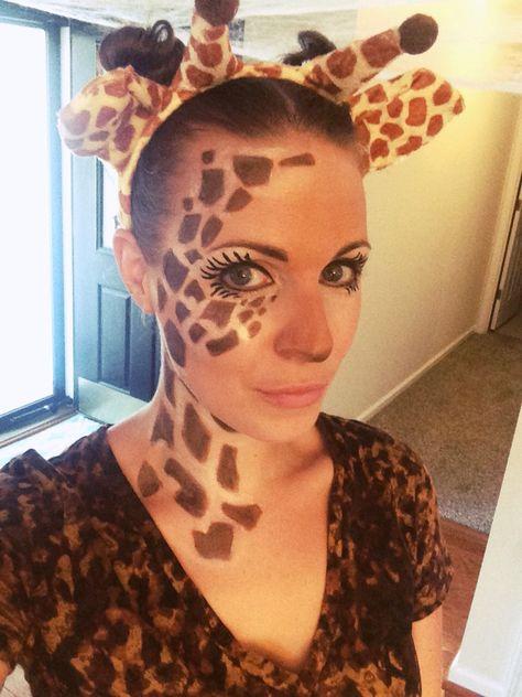 Giraffe makeup