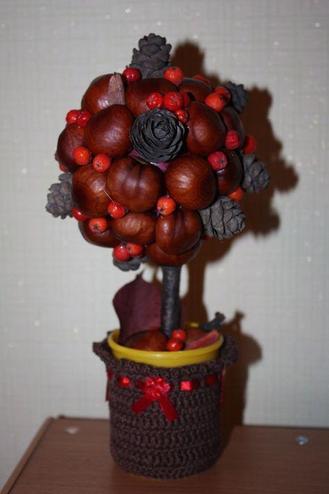 Поделки для садика на тему осень дерево своими руками фото 35
