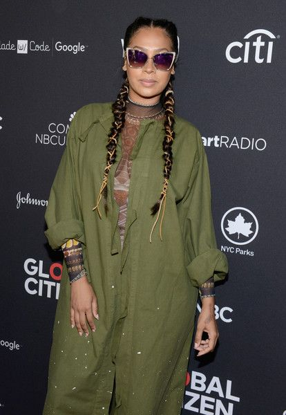 TV personality La La Anthony attends the 2016 Global Citizen Festival In Central Park To End Extreme Poverty By 2030 at Central Park on September 24, 2016 in New York City.